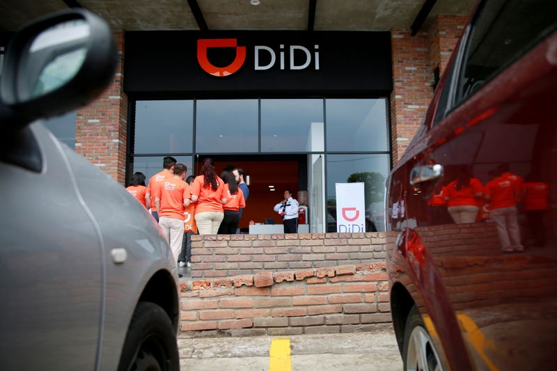 Didi launches service in Mexico for women to select only female passengers By Reuters