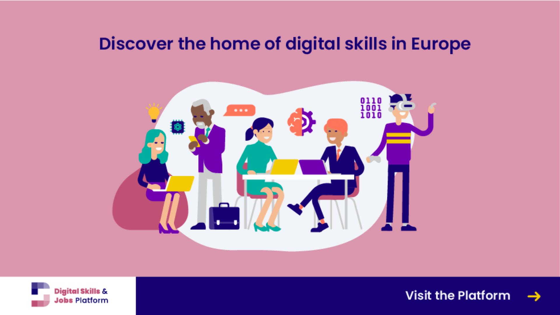 Digital Skills & Jobs Platform – the new home of digital skills in Europe