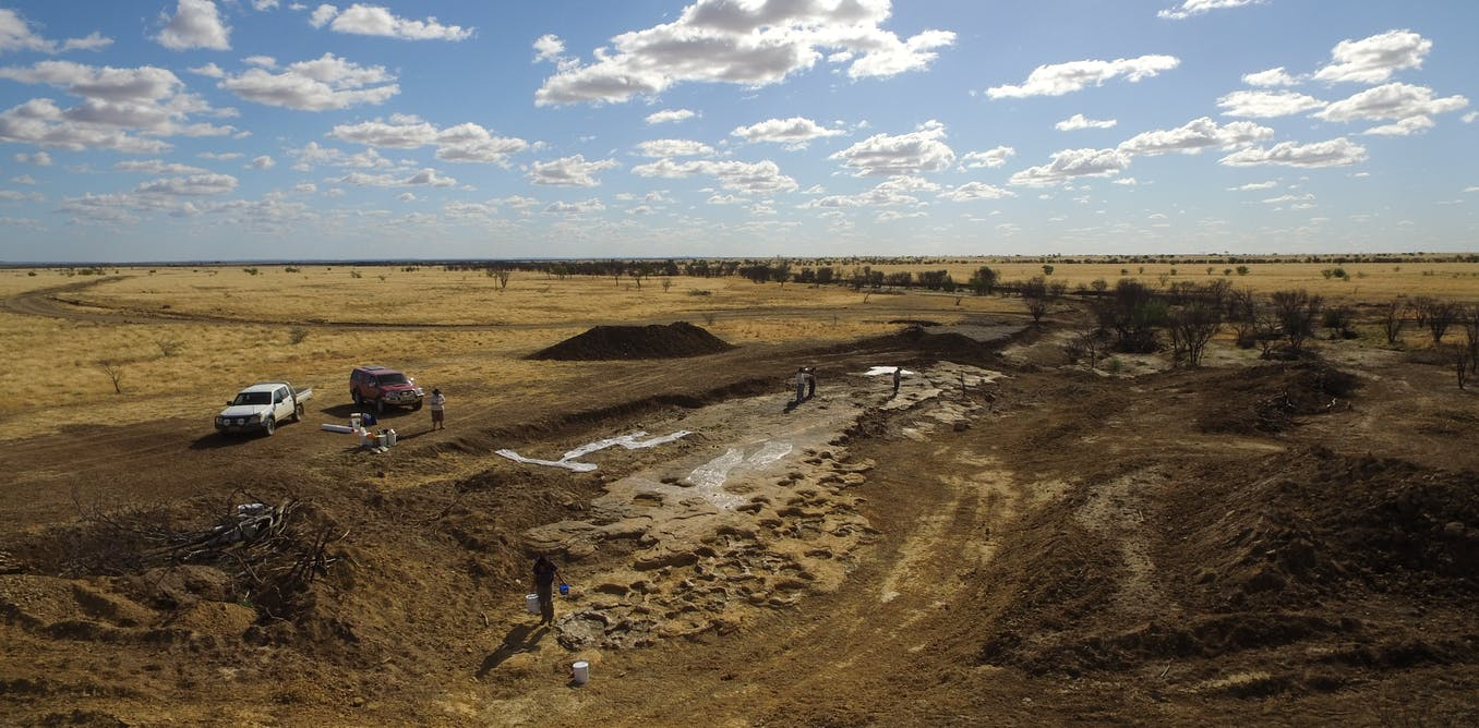 the Snake Creek Tracksite unveiled