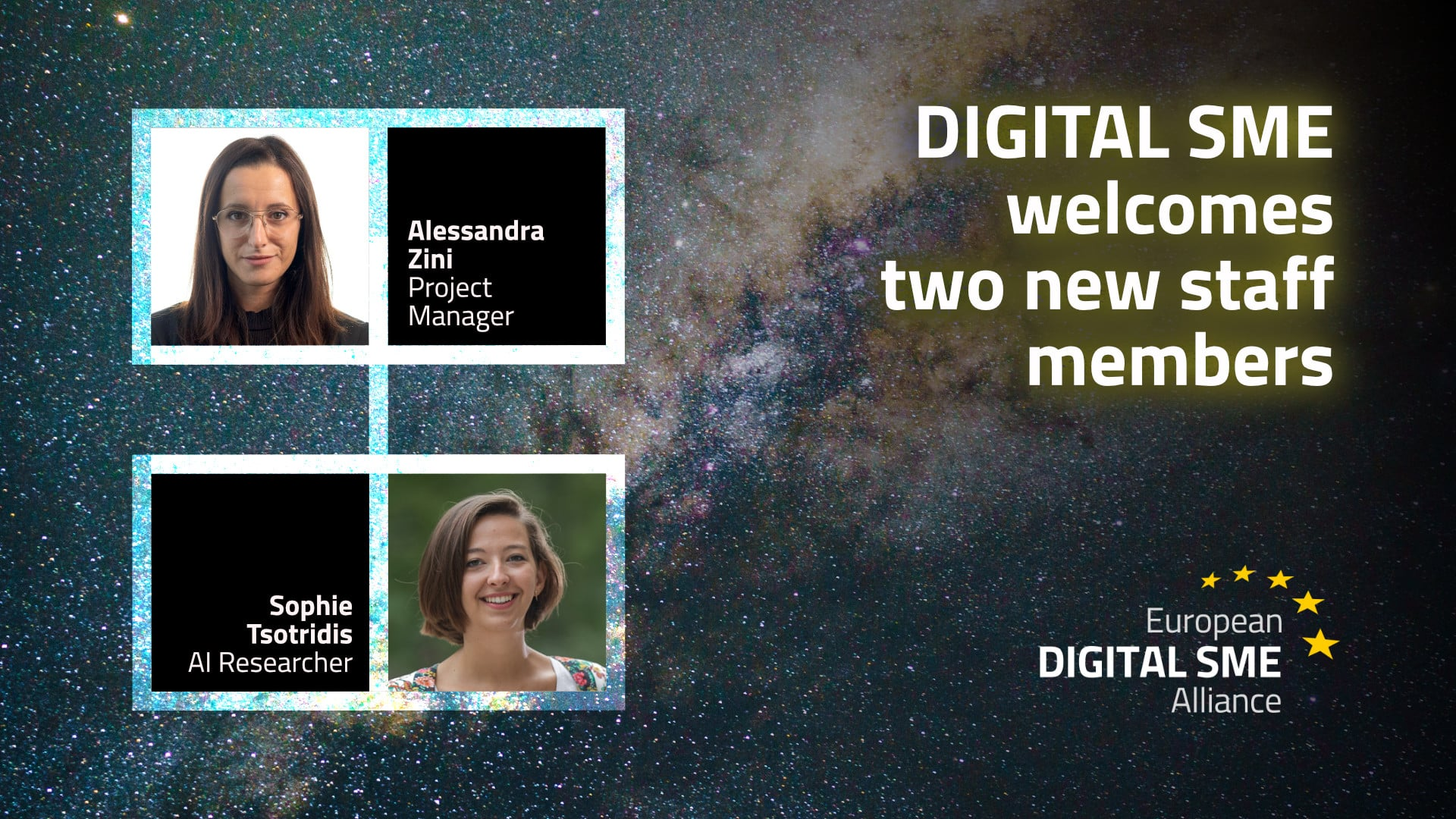 DIGITAL SME's Brussels office welcomes two new staff members