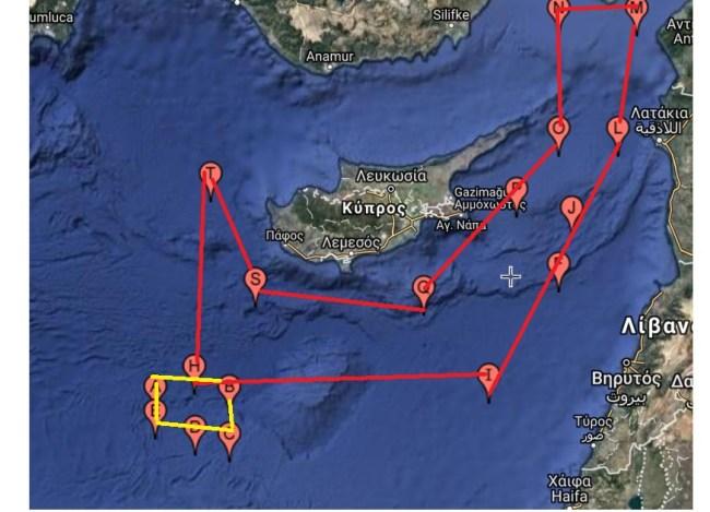 Η Τουρκία περικυκλώνει την Κύπρο με νέα Navtex
