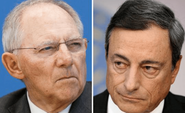 Η απάντηση Draghi στον Schaeuble για επιτόκια και Ελλάδα