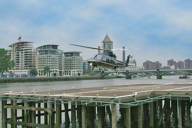 Private helicopter charter and management