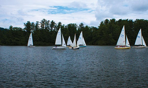 Inland Sailing on Lake Julian