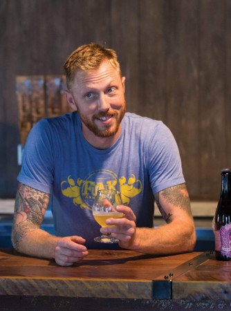 Walt Dickinson, partner of Wicked Weed Brewing
