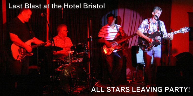 Red Dog Saloon Band followed by a 'Blues Club All Stars' Jam