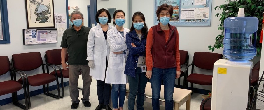 新冠疫情下CCACC泛亚义务门诊的医疗服务