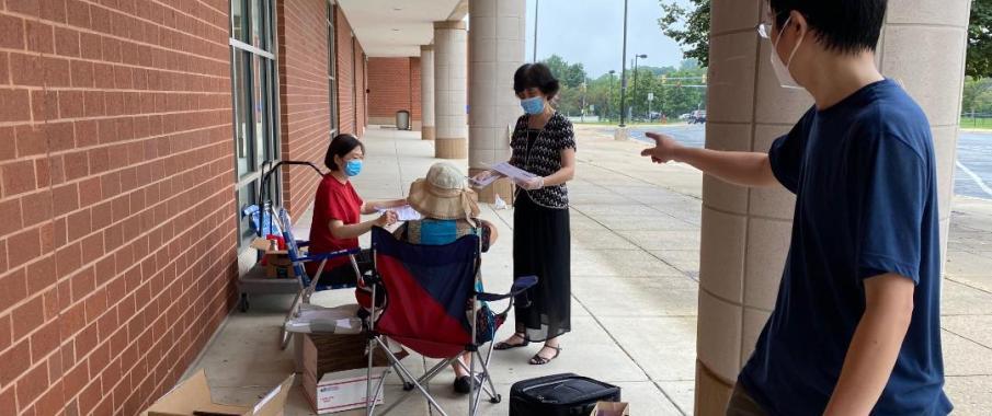 希望中文学校盖城校区新学年售书活动