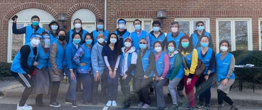 继续!维州费郡华裔社区新冠疫苗义务接种