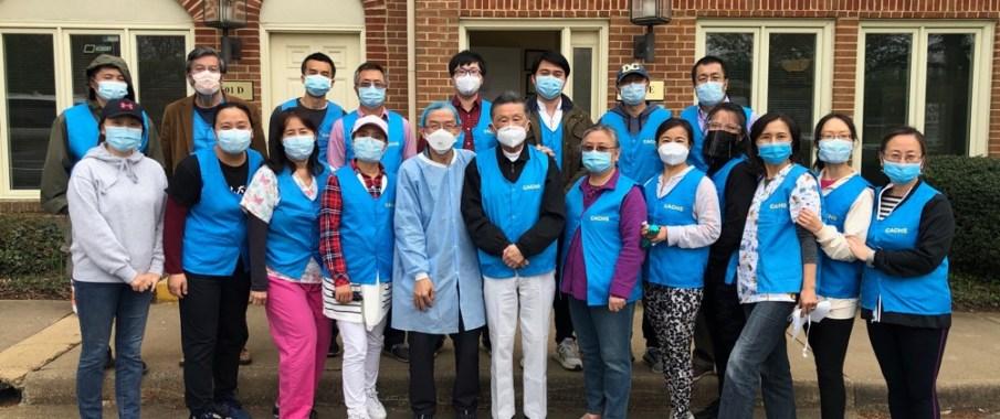 那些义工们……—— 记费郡华裔社区新冠疫苗义务接种点