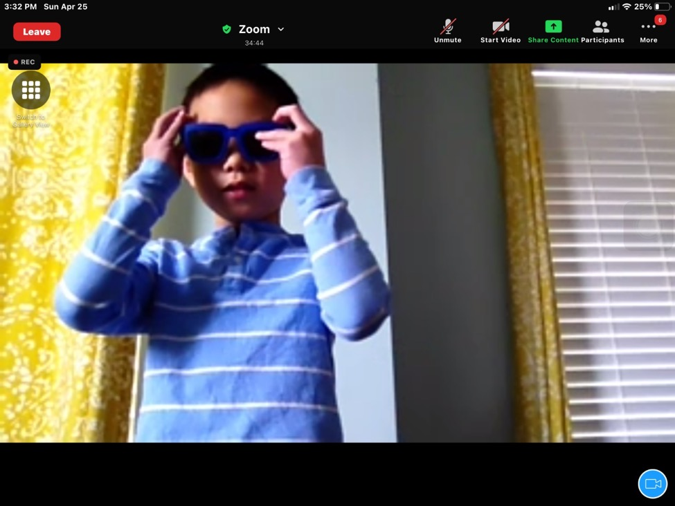 A screenshot of a person wearing sunglasses  Description automatically generated with medium confidence