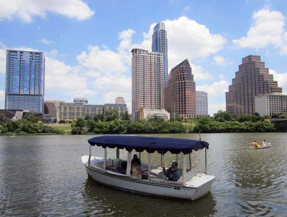 Hidden Austin secret spot: the only boats allowed on Lady Bird Lake