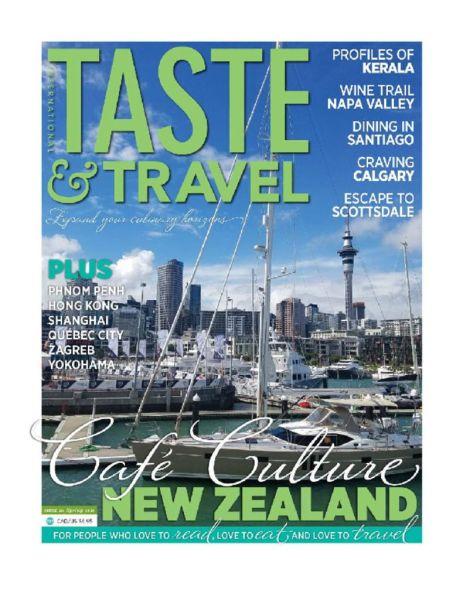 thumbnail of Taste & Travel Magazine, Spring 2018