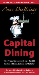 Front cover of Capital Dining 2011