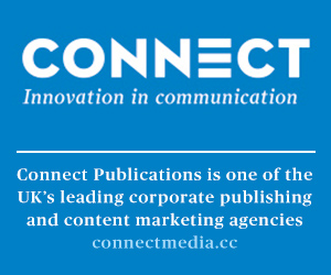 Connect Publications is one of the UK's leading corporate publishing and content marketing agencies