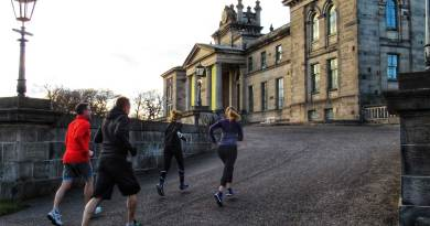Running in Edinburgh