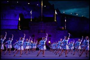 Highland Dancers at the Tattoo
