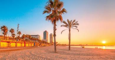Beach at Barcelona