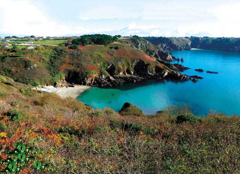 Saint's Bay, Guernsey, Channel Islands