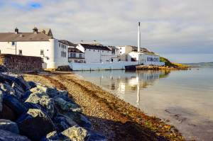 Bowmore Distillery on Islay
