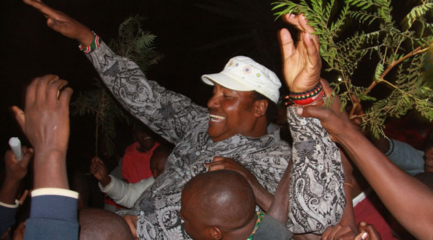 Waititu garnered a total  of 14,696 votes against his closest rival Wilson Mburu who got 2,336 votes/MIKE KARIUKI