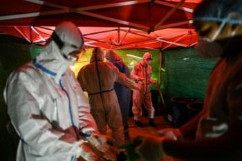 Coronavirus cases surge in Europe and Latin America