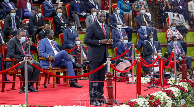 DP Ruto's critique of BBI proposals attracts cheers and jeers at Bomas » Capital News