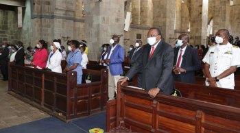 President Kenyatta joins Archbishop Sapit in celebrations to mark ACK's 50th anniversary