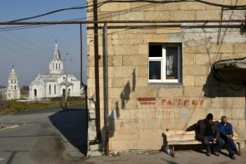 Heavy fighting near key town in Karabakh
