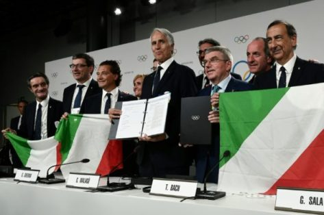 Image result for Italy risk Olympic exclusion over new sports law