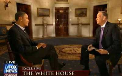 Fox News' Bill O'Reilly Interviews The Prince of Unaccountability (Obama)