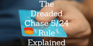 Chase 5/24 rule