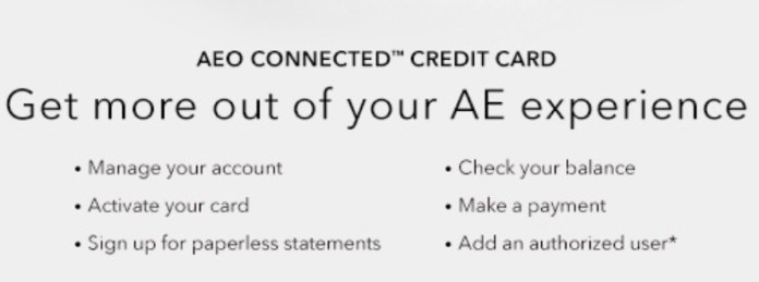American Eagle Outfitters credit card login