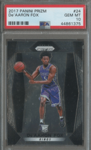de'aaron fox rookie prizm