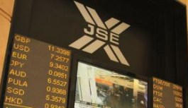 South Africa Equity Markets | 26 Oct 2015: JSE slips 0.27% stocks fall, Gold index 1.60% higher on Monday