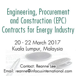 EPC Contracts for Energy Industry, Malaysia