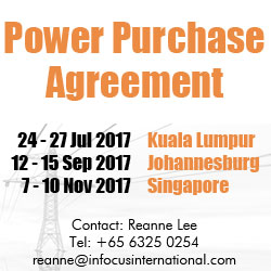Power Purchase Agreement Course, South Africa, Malaysia, Singapore, Dubai