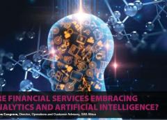 Are Financial Services Embracing Analytics and Artificial Intelligent?