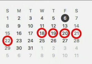 Calendario De Mis Dias Fertiles.Como Saber Tus Dias Fertiles Si Deseas Embarazarte
