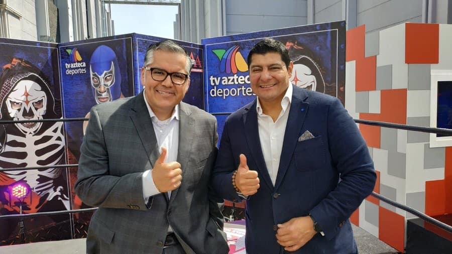 transmisiones de lucha libre aaa en tv azteca
