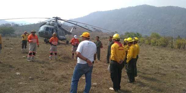 incendios en Chiapas SEMAR