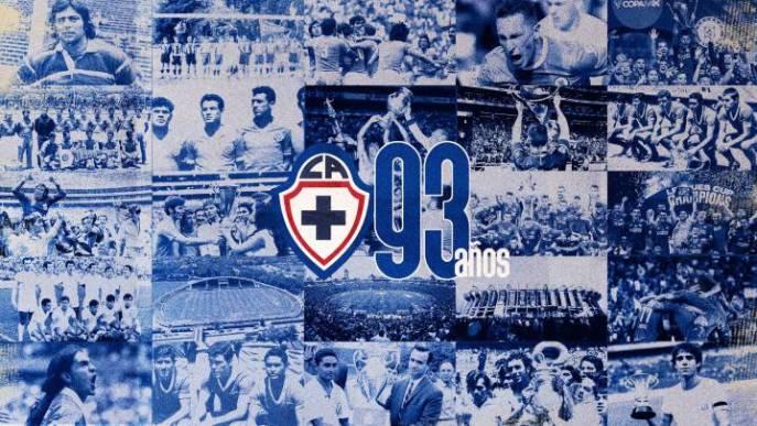 Cruz Azul cumple 93 años de historia y orgullo