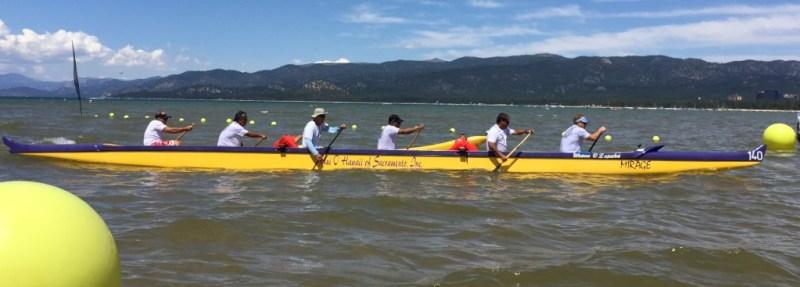 Second place - Senior master men at Lake Tahoe 2015