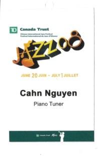 Ottawa Jazz Festival Pass 2008