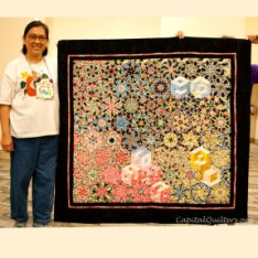 Capital Quilters October Show and Tell