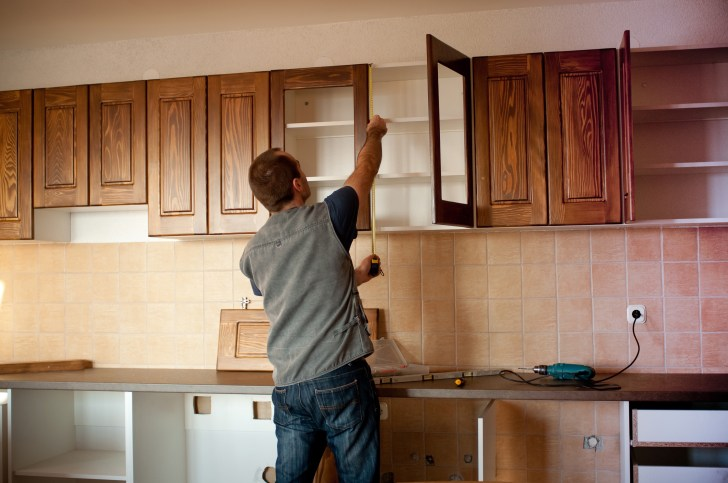Some Common Mistakes Made Installing Kitchen Cabinets