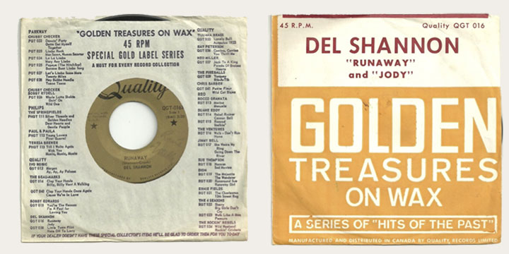 Image result for del shannon runaway 45 reo