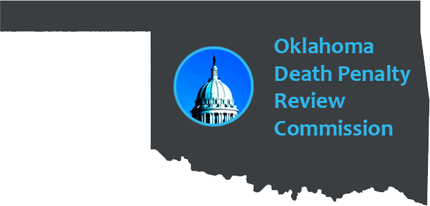 DeathPenaltyReviewCommLogo Capitol Only Blue Border and Type