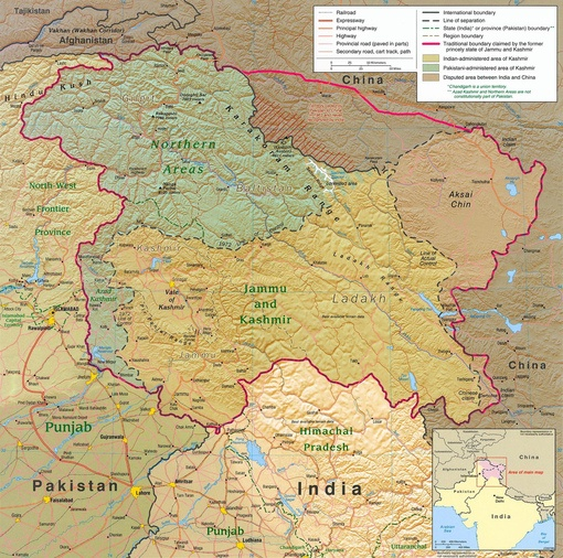 Kashmir region 2004 8