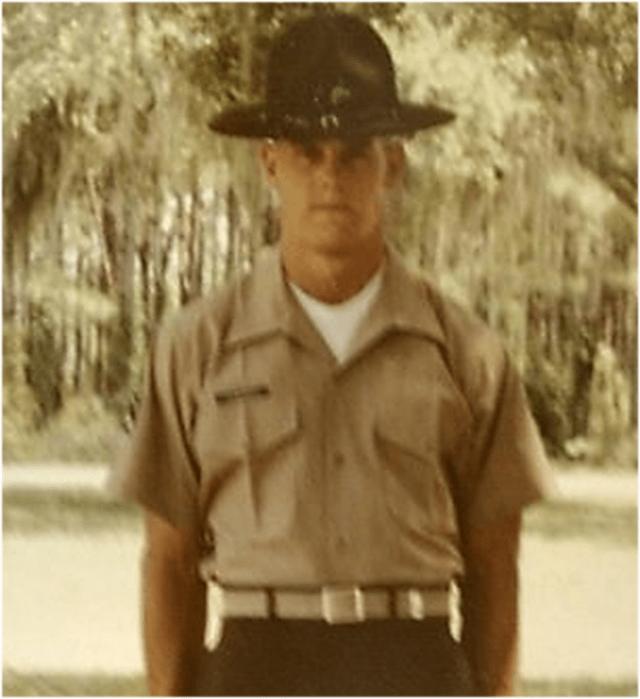 John Stuart Edwards - Drill Instructor - USMC